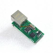 Serial Port Server Module Ethernet Network To RS232 TCPIP RJ45 To TTL Seckill ENC28J60(China (Mainland))