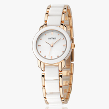 Hot Sales! Kimio Retro Student  / Woman Watch and a half Ceramic Watch Quartz Bracelet Watch the Trend of Fashion Ladies Watch