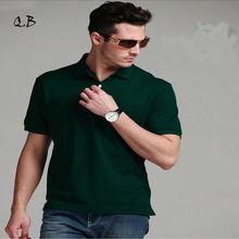 2016 New Polo Men Shirt 100% Cotton Brand Solid Camisas Masculinas Polo Shirts Men Shirt With Short Sleeves fashion high quality