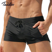 Taddlee Brand Sexy Men Swimwear Men's Swimsuits Surf Board Beach Wear Man Swimming Trunks Boxer Shorts Swim Suits Gay Pouch WJ(China (Mainland))