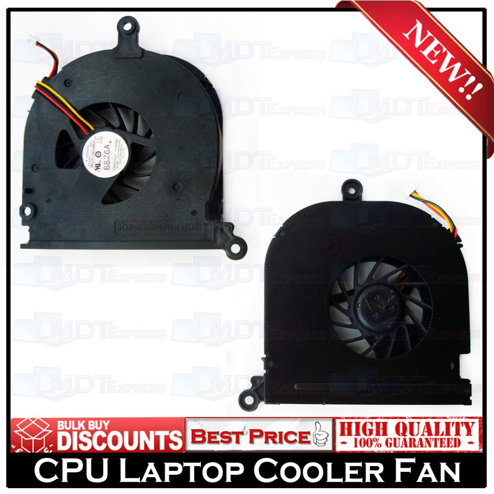 New! Original Laptop CPU Cooling Cooler Fan for Dell Inspiron 1420 YY529 Vostro 1400 DFS531205PCOT F6K2-CCW A00(China (Mainland))