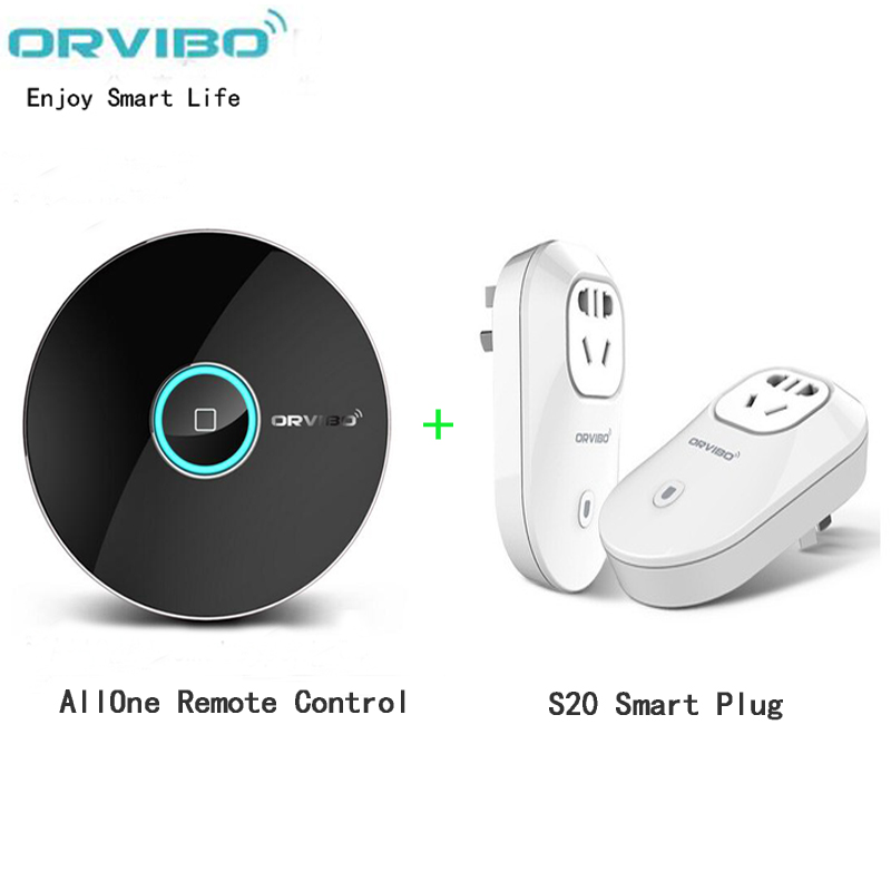 Orvibo Allone wiwo r1,Smart Home Automation System Controller,remote control,IR+RF,Orvibo s20 wifi cell phone power socket(China (Mainland))