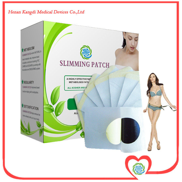 30PCS LOT Free Shipping Wholesale Weight Loss Products Slim Patch 7X9CM Herbal Patches For Weight loss