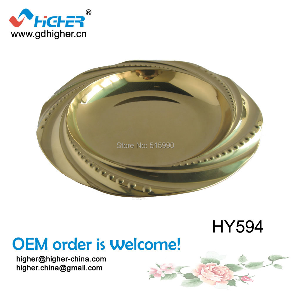 wholesale online shopping buy low price gold charger plates wholesale