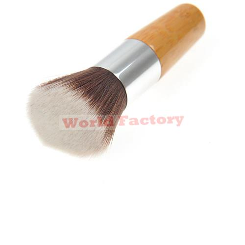 Recommended Professional Makeup Brushes Exquisite Bamboo Foundation Brush Flat brush(China (Mainland))