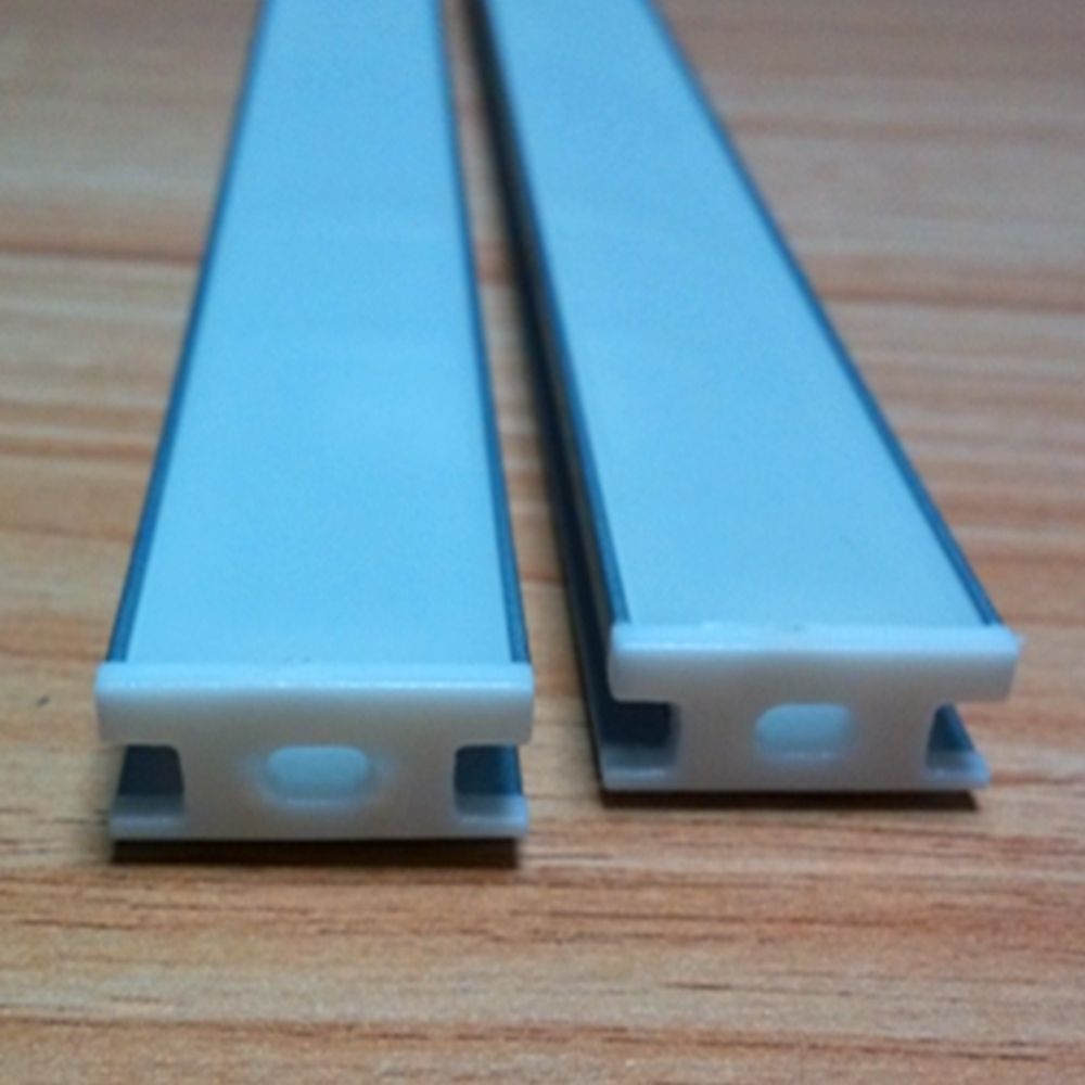 40m (20pcs) a lot, 2m per piece, High quality aluminum profile for led strip light, thick cover which can be step on(China (Mainland))