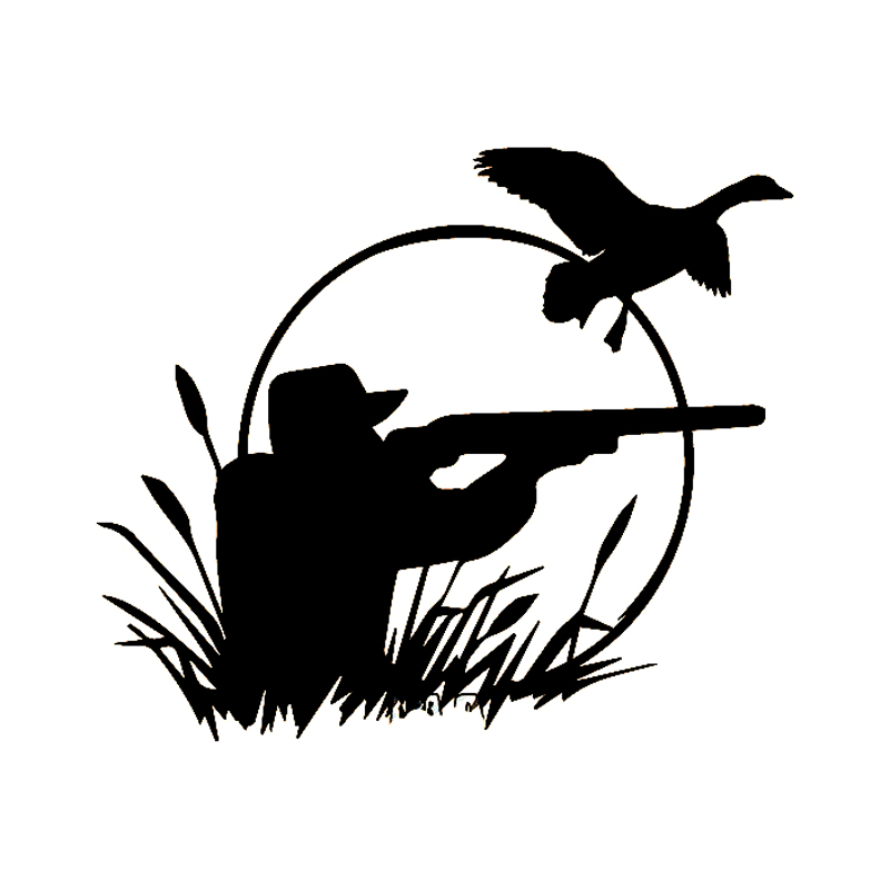 Hunting stickers promotion shop for promotional hunting for Duck hunting mural