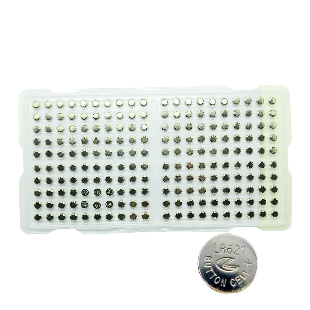 product Free Shipping 200pcs/lot AG1 LR60/164/621 Alkaline Button Coin Cell Battery For Watches