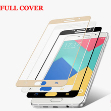 Buy 3D Curved Edge Full Cover Premium Tempered Glass Screen Protector Samsung Galaxy A5 2016 A5100 A7 2016 A7100 Protective Film for $1.34 in AliExpress store