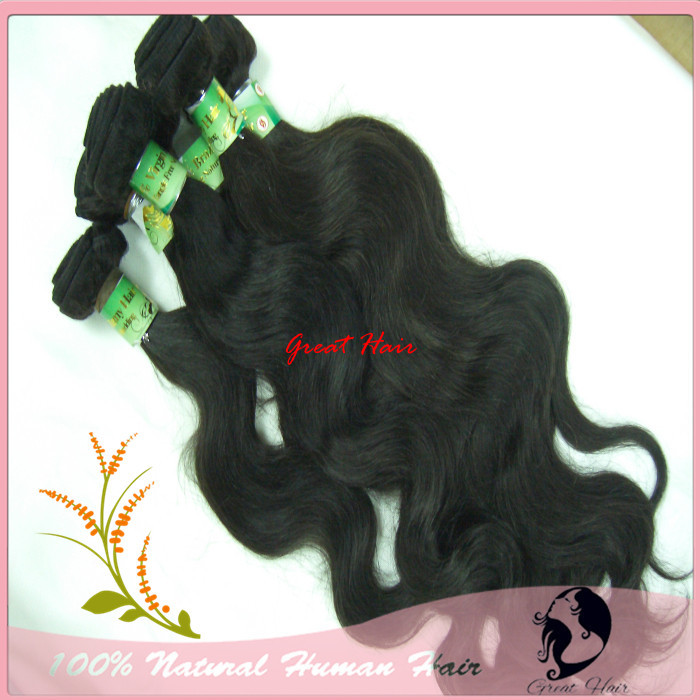 Great cabelo Mixed Size Brazilian14inch - 28inch 100% Virgin Human Body Wave  Hair Weft Natural Color 95-100g/pc, 4pcs/lot<br><br>Aliexpress