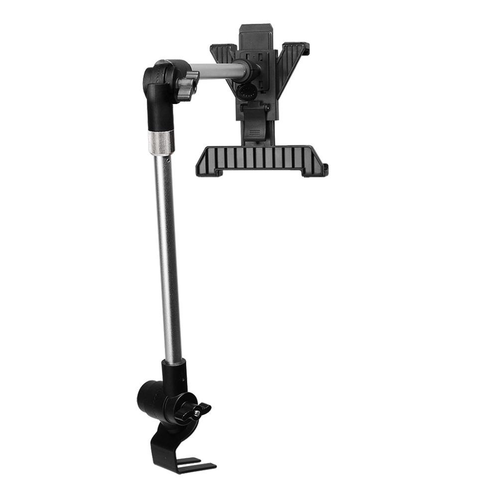 Universal Car Floor Seat Bolt Mount Holder Stand Adjustable foripad mini 2/ ipad Air 2 /ipad 4/3/2/1 /tablet PC black(China (Mainland))