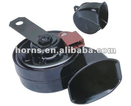 12v waterpoof snail air horn&auto and motorcycle horn,high and bass horn(China (Mainland))