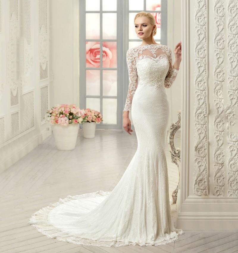 Платья свадебные русалка