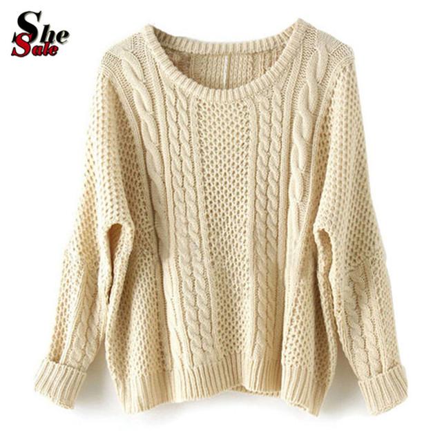 Женщины Spring Модный CloТонкийg Свободный Pullovers Повседневный Сплошной Длинный ...