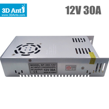 2016 Rushed Direct Selling 301 400w Block Power Wholesale 360w 12v 30a Switching Power Supply For