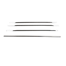 Buy 2013-2016 Mitsubishi RVR/ASX/Outlander Sport Steel Window Bottom Sill Frame Molding Cover Trim 4pcs for $21.25 in AliExpress store