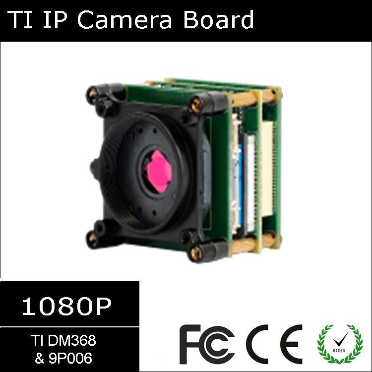 [#9132] Texas Instruments TI DSP ( DM368 & 9P006) Triple Boards H264 Onvif 1080P Network IP Camera Module Board(China (Mainland))