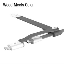 Wood Meets Color MFi Certification Interface Spaghetti Android Mobile Phone Cables USB Combo Applicable To USB Mico Light ning6