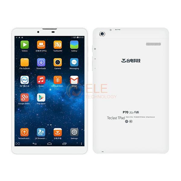 Планшетный ПК 7.0 IPS Teclast P70 3G WCDMA MTK MT8392 Android 4.4 1 /8 OTG GPS Bluetooth 1280 * 800 планшетный пк ampe core 2 16 1920 1200 ips android 4 2 3g 7inchtablet mtk6592 core1 7ghz otg