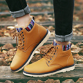 New Autumn Winter 2016 Men Boots Black White Brown Gray Pointy Men Ankle Boots Fashion British