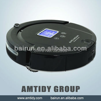 (Free Shipping to Russia) 2014 New Design Robotic Vacuum Cleaner Ultrasonic Sale Promotion