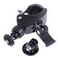 360 Degree Swivel Bicycle Motorcycle Handlebar Tripod Mount Holder for GoPro Hero