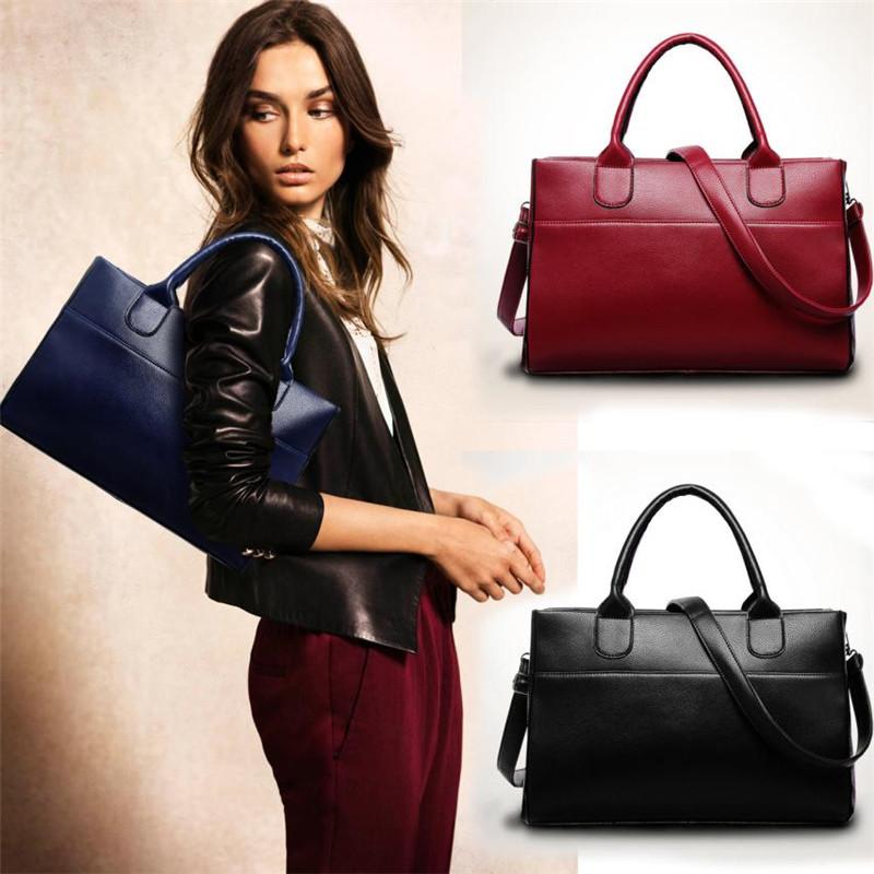 Women bag ladies 2016 Fashion Genuine leather bag vintage bags handbags women famous brands women messenger bags dollar price(China (Mainland))