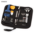 13 Pcs Set Watch Repair Tool Kits Set Zip Case Holder Opener Remover Wrench Screwdrivers Watchmaker