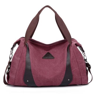 new style Fashion Personality Casual canvas bag Top quality women shoulder bag big capacity handbags women