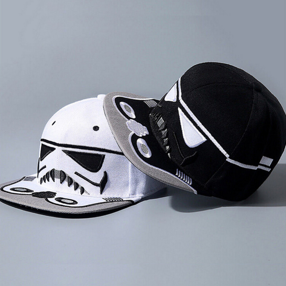 2016 Young Boy Caps Cool Hats Strapback Letter Baseball Cap Cotton Brand Star Wars Snapback Hip-hop Hats For Men Women WSW104(China (Mainland))