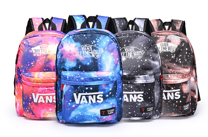 22 style School Youth Trend schoolbag 2015 new ladies female man shoulder bag backpack VANS Escolar bolsas mochila US Nina(China (Mainland))