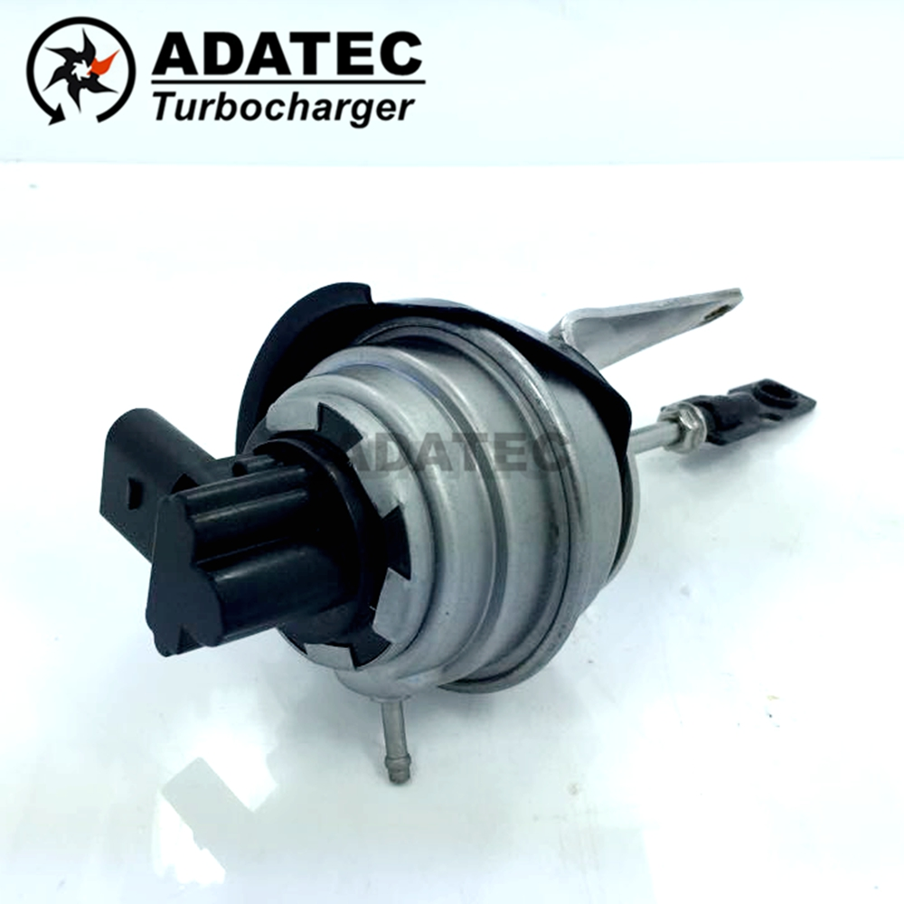 Electronic wastegate GTB1749V 757042 03G253010AX / 03G253010AV Turbo Vacuum Actuator for Skoda Octavia II 170 125 2.0TDI(China (Mainland))