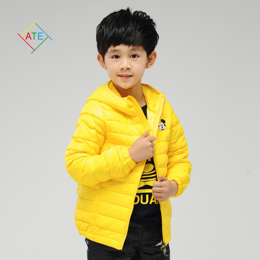2015 winter clothes for girls and boys fashion children down jacket hooded coat kids apparels ZL50(China (Mainland))