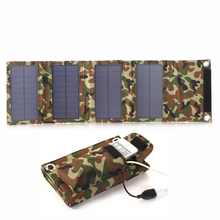 Flexible Solar Panel Charger 8W USB Battery Foldable Folding Solar Battery Solar Power Bank Mobile Charger for Laptop iPhone 6s