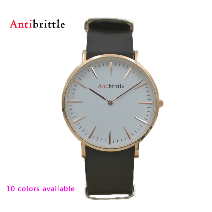 popular real gold mens watches buy cheap real gold mens watches fashion luxury rose gold men watches women 40mm waterproof nylon pu steel real leather band antibrittle