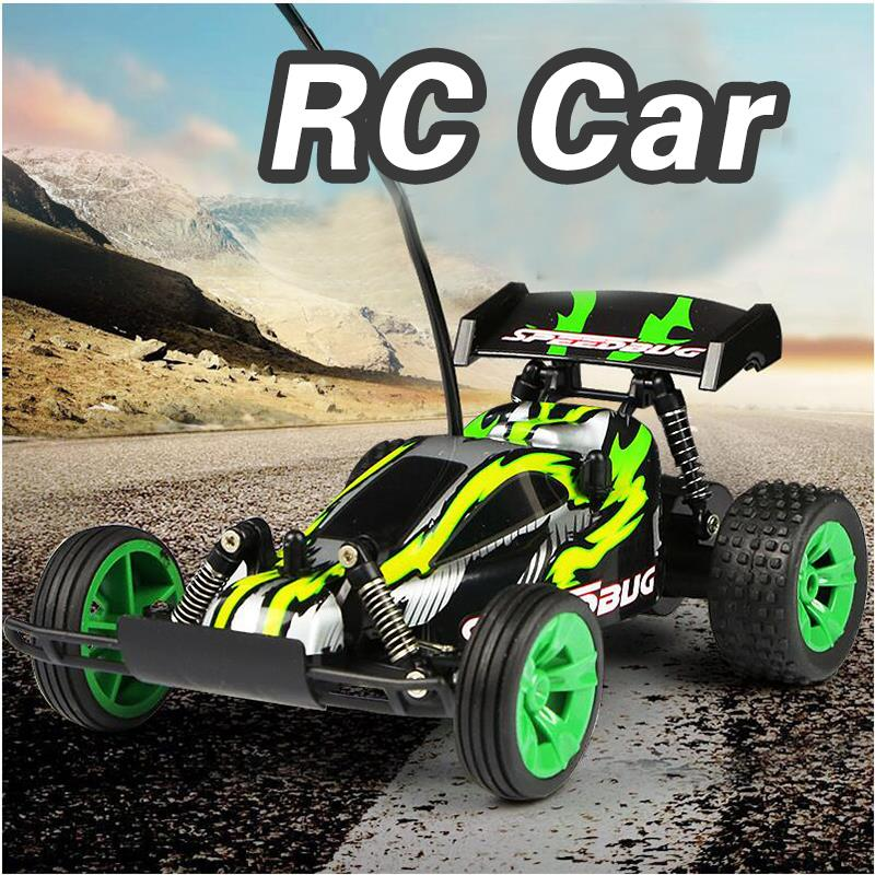 Green 1:24 High Speed Radio Remote Control Electric RC Racing Drift Car Off-Road Vehicle Dirt Car Model Toys Gift(China (Mainland))
