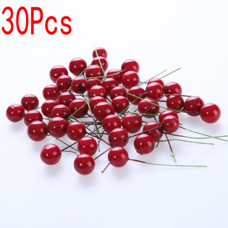 Red Berry Christmas Tree Decorations : Fruit berries picture more detailed about pcs