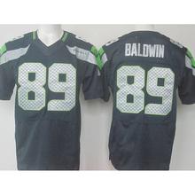 cheap sale #25 Richard Sherman #12 12th Fan #31 Kam Chancellor #3 Russell Wilson 89# baldwin College Navy Elite Stitched Logos(China (Mainland))