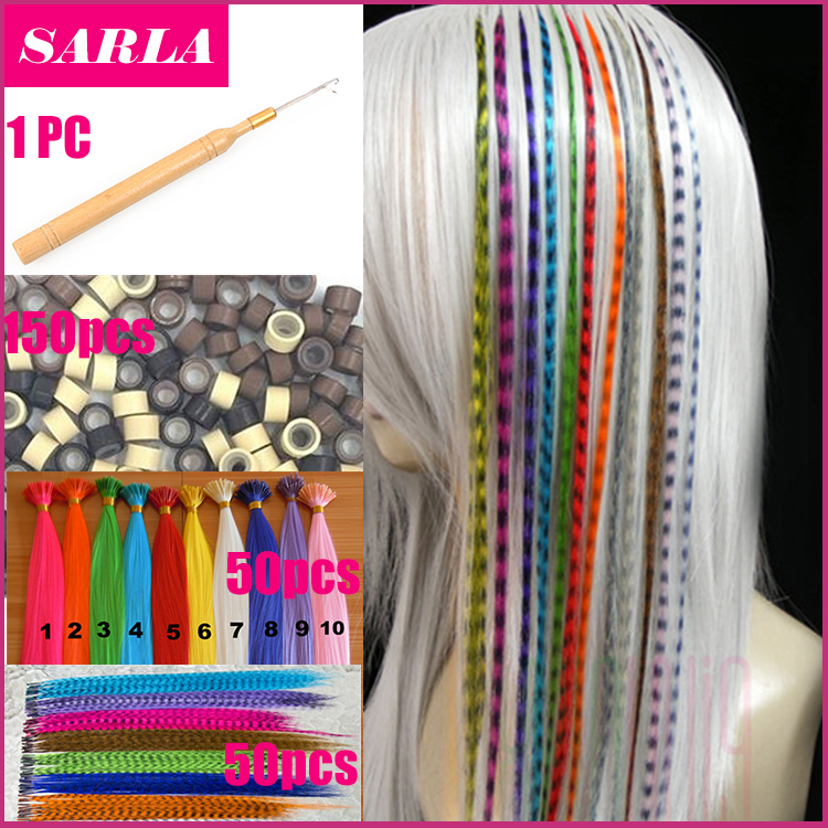 100pcs/lot Feather Hair Extensions With Beads Hook Long Wholesale Loop Grizzly Solid Zebra Lines Wholesale I Tip Hair Extension(China (Mainland))