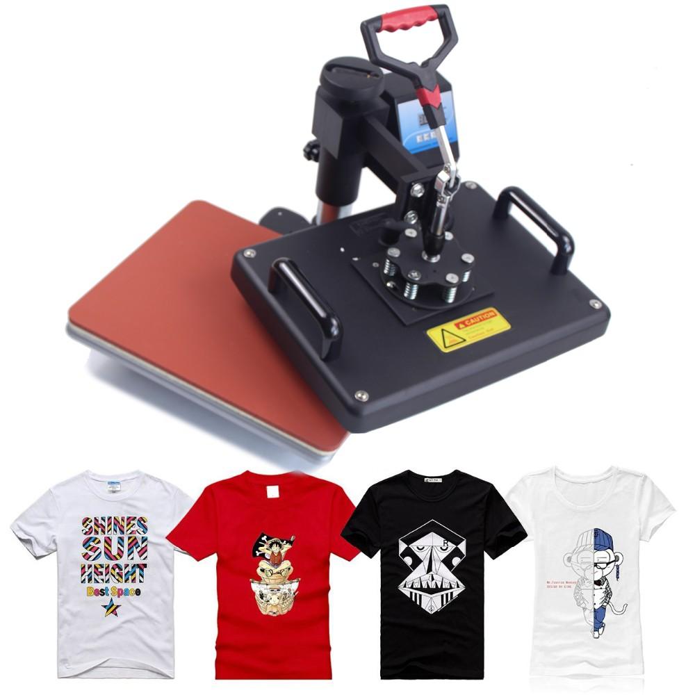 Купить 4 в 1 Сублимация Машина Давления Жары для футболки, Кружки, Тарелки, Шляпы печатная машина DX-401 Автоматический печатная машина