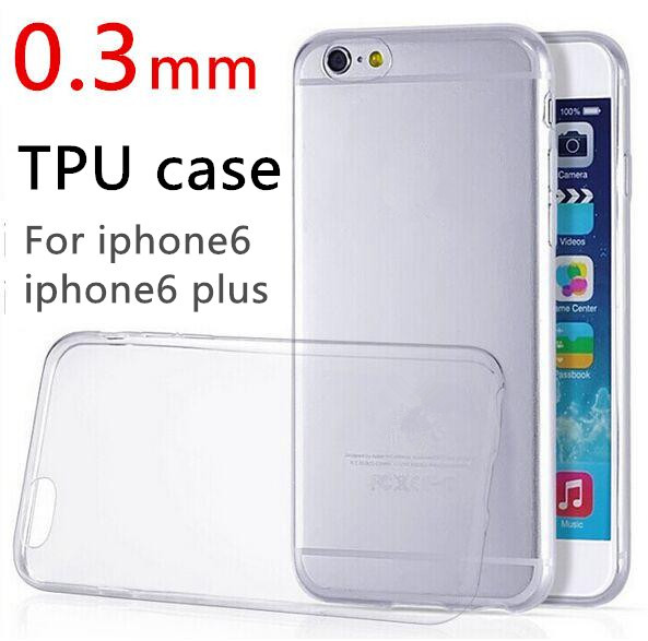 Phone Case Clear TPU Apple iphone 6 case 4.7 inch colorful 0.3mm flexible Ultra thin transparent phone Back Cover Y1 - T&G Technology Co., Ltd. store