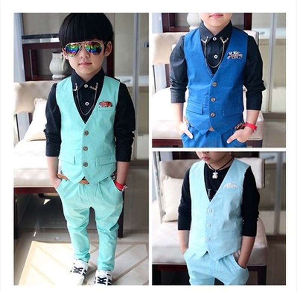2016 England Style Boys Clothing Sets Single Breasted 3-10y Shirt+Pants Kids Outwear Children Wedding Suits For Boys EB52(China (Mainland))