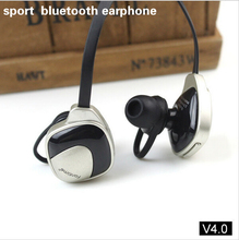 New stereo headphones headset Bluetooth F168 V4.0 Sports&Sweat-proof In-ear earbuds wireless earphones built-in Mic