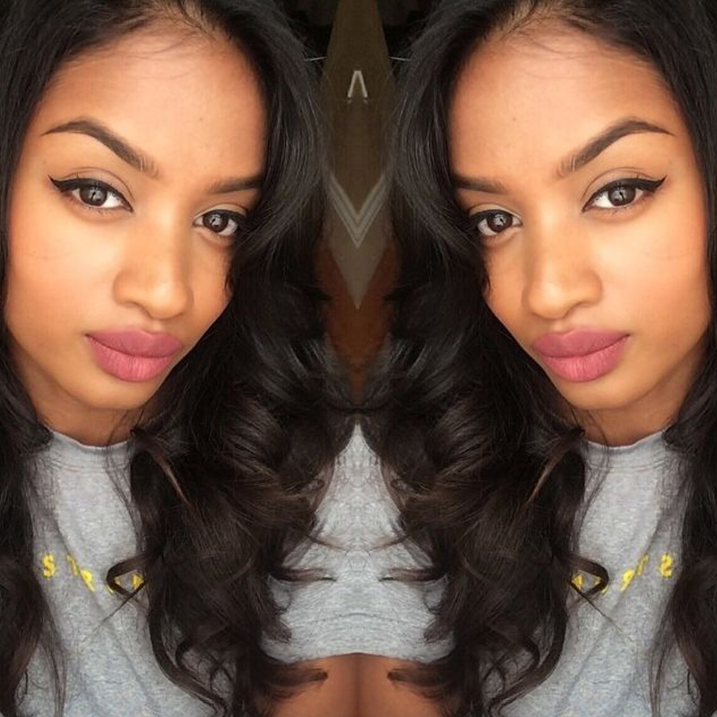 Фотография 2016 New Arrival Loose Wave Full Lace Human Hair Wigs Peruvian Loose Wave Glueless Full Lace Human Hair Wigs For Black Women