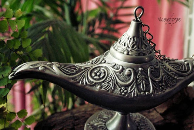 Free shipping - Aladdin lamp home decor craft Tin-Alloy material big size HOT