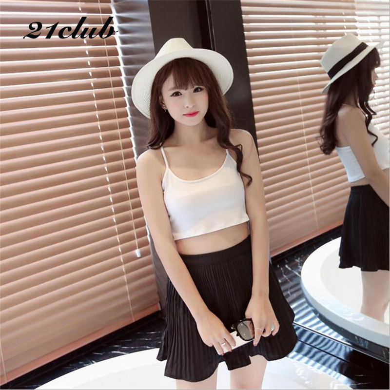 2017 new casual solid short women tank tops hotsale ladies tracksuit sexy tube top clothing famous brand leak back bottom shirt(China (Mainland))