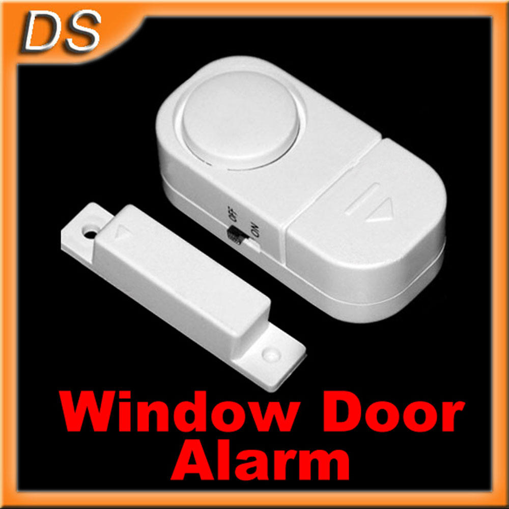 New wireless home security alarm systems door window entry for Window alarms