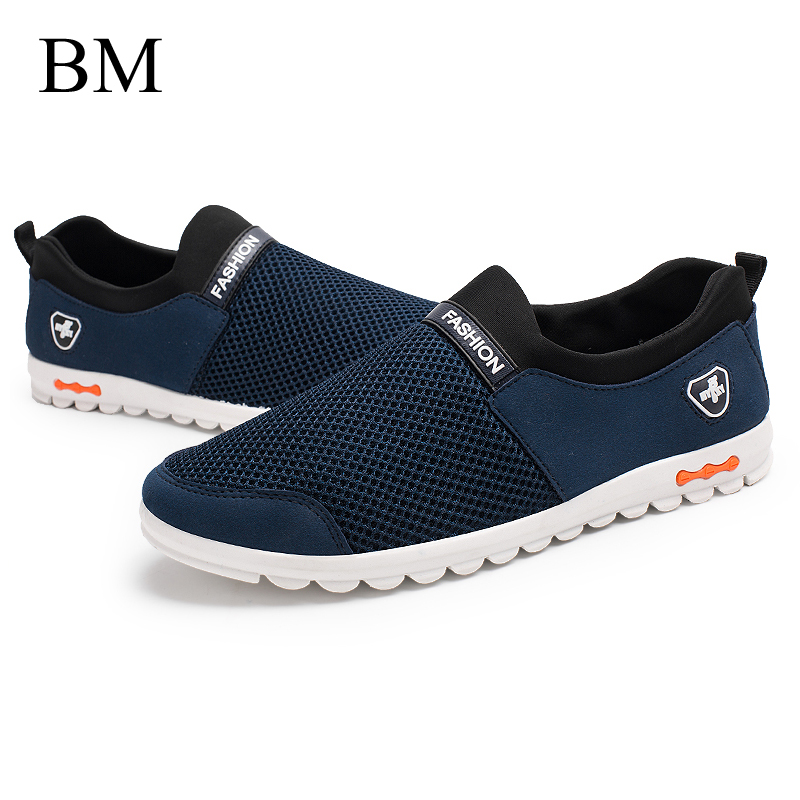 Men Casual Shoes 2016 New Arrival Men's Fashion Solid Breathable Lazy Shoes Male Plus Size 39-44 Old Beijing Cloth Shoes(China (Mainland))