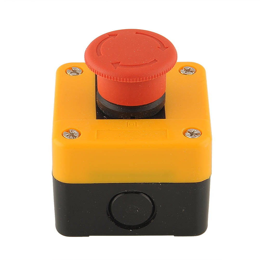 Гаджет  1PC Red Sign EMT Emergency Stop Button Mushroom Actuator Switch Weatherproof Free shippingFree Shipping None Электротехническое оборудование и материалы