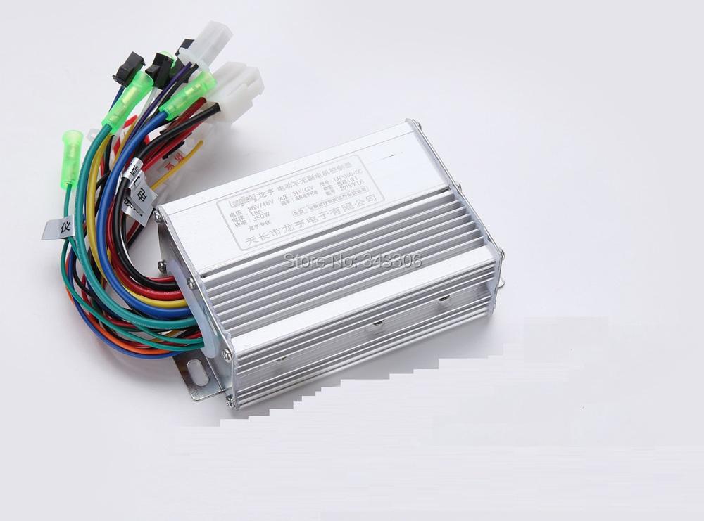 36v 48v 350w dc brushless controller motor 3 phase line for 3 phase brushless dc motor controller
